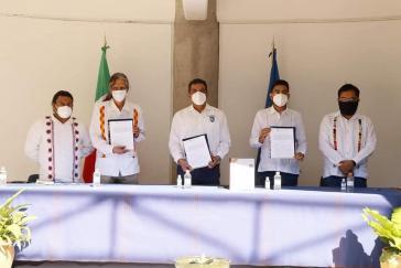Zeremonie zur Einführung des neuen Studiengangs