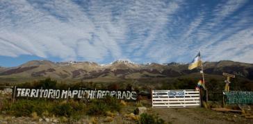 Besetze Ländereien in Argentinien