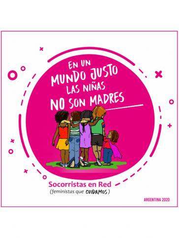 """""""In einer gerechten Welt sind die Mädchen nicht Mütter"""": Frauen in Argentinien haben diese Kampagne gestartet, die in ganz Lateinamerika läuft"""