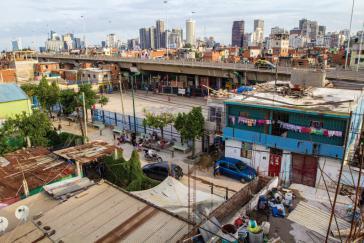 Die informelle Siedlung Villa 31 liegt nahe am Zentrum von Buenos Aires