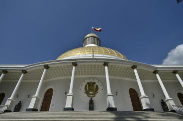 Sitz der Nationalversammlung in Caracas. Die Parlamentswahlen am 6. Dezember werden von Teilen der Opposition boykottiert