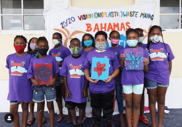 Zu den Ausgezeichneten gehört Kristal Ambrose, die auf den Bahamas eine Jugendbewegung gegen den Plastikmüll initiierte