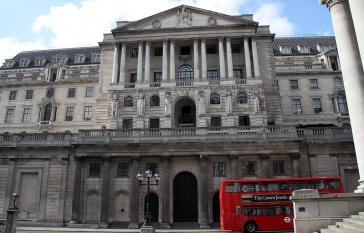 Sitz der Bank of England in London: Hier liegt Gold aus Venezuela