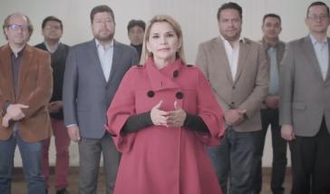 """""""Es ist kein Opfer, es ist eine Ehre"""", erklärte Áñez zum Rückzug ihrer Kandidatur"""