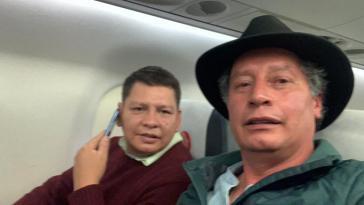 Nach internationalen Protesten konnten Dorado (links) und Navarro nach Mexiko ausreisen