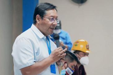 Der Präsidentschaftskandidat der MAS, Luis Arce, fordert die internationale Gemeinschaft auf, den Wahlprozess zu beobachten