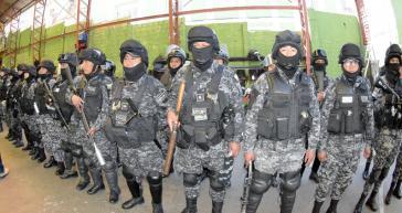 Allein im Departamento La Paz werden am 18. Oktober 5.000 Polizisten eingesetzt