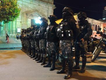 70.000 Angehörige der Polizei und der Streitkräfte sind im Einsatz
