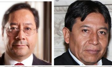 Gehen in Bolivien für die MAS ins Rennen: Arce und Choquehuanca
