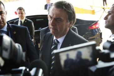 In Den Haag bald auf der Anklagebank? Brasiliens Präsident Jair Bolsonaro