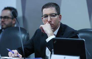 Im Visier der Regierung Bolsonaro: Der Journalist Glenn Greenwald, Mitarbeiter von The Intercept