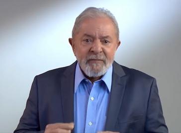 Lula da Silva bei seiner Ansprache zum Nationalfeiertag am 7. September