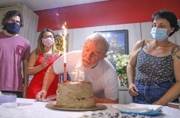 Lula da Silva beging am 27. Oktober seinen 75. Geburtstag. Nun will die Justiz ihn erneut vor Gericht stellen