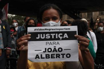 """""""Gerechtigkeit für João Alberto"""": In ganz Brasilien fanden Proteste gegen den rassistischen Mord statt"""
