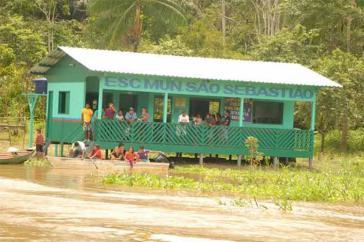 Von Schließung betroffen: Landschule in Brasilien