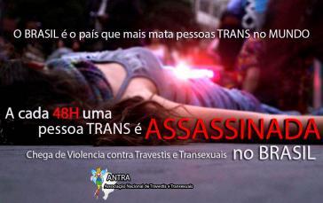 Die Associação Nacional de Travestis e Transexuais setzt sich mit ihren Kampagnen für die Rechte und den Schutz von Trans-Menschen ein