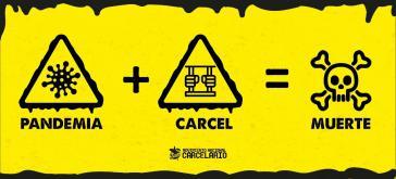Mit Plakaten machen Kampagnen auf die umnenschlichen Bedingungen aufmerksam