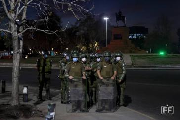 """Die """"neue Normalität"""" in Chile zu Zeiten von sozialen Protesten - und Corona"""