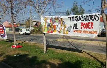 In ganz Chile gab es am 1. Mai kleinere Proteste und Kundgebungen