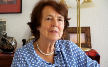 Ilse Schimpf-Herken leitet bis heute das Paulo Freire Institut in Berlin