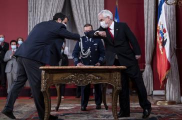 Zum neuen Innenminister ernannte Präsident Piñera am Mittwoch Rodrigo Delgado
