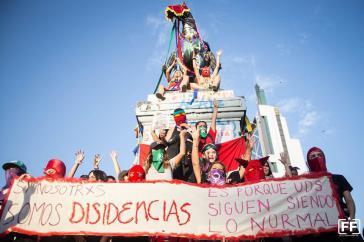 Symbol des Widerstands: Plaza de la Dignidad in Santiago