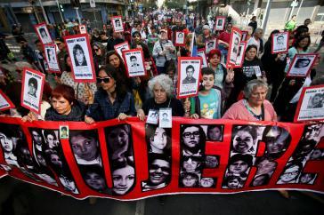 Am Jahrestag des Militärputsches wurde in Chile bei verschiedenen Protesten auch den Verschwundenen gedacht