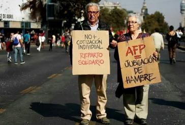 Seit Jahren fordern Bürger die Reform des privaten Rentensystems in Chile