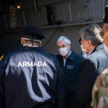 """Mit  """"höchster Dringlichkeit"""" soll der Inlandsgeheimdienst nach Piñeras Willen mehr Befugnisse bekommen"""