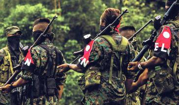 """Vom 14. bis 17. Februar findet in Kolumbien ein """"bewaffneter Streik"""" der ELN statt. Auch die wiederbewaffnete Farc-Ep beteiligt sich"""