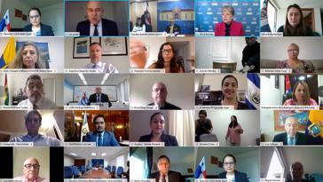 virtuelles Treffen der CEPAL