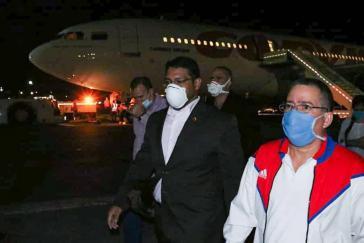 Ärzte aus Kuba treffen in Venezuela ein