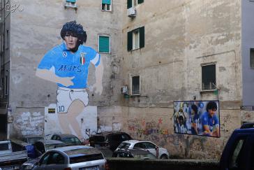 Wandbilder in Neapel
