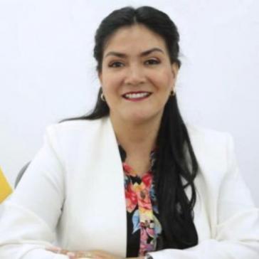 Aus Protest gegen Corona-Politik in Ecuador zurückgetreten: Catalina Andramuños