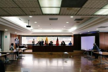 Am 7. April wurde Correa in Abwesenheit verurteilt