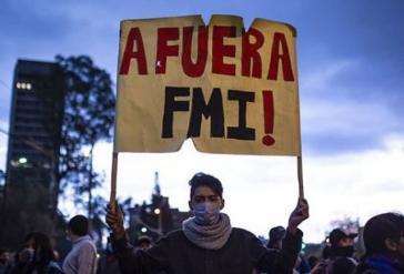 """""""IWF raus"""": Morenos Politik und die Vereinbarungen mit dem IWF stoßen in der Bevölkerung auf breite Ablehnung"""