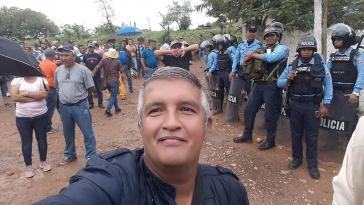 Der ermordete Journalist Luis Almendáres
