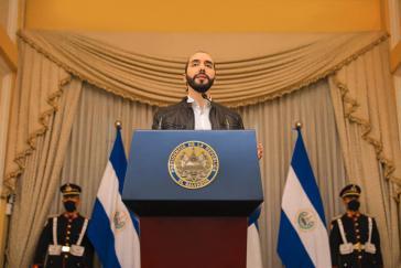 Musste sein Dekret zur Öffnung der Wirtschaft aussetzen: El Salvadors Präsident Nayib Bukele