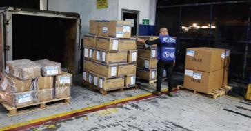 Hilfslieferungen sind momentan auch in Lateinamerika gern gesehen