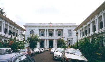 Sitz der französischen Regionalverwaltung in Martiniques Hauptstadt Fort-de-France