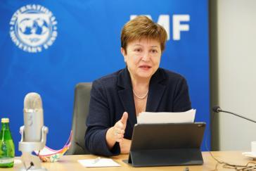 Seit dem Amtsantritt von IWF-Direktorin Kristalina Georgieva scheint der IWF bei sozialen Themen nicht mehr einzig auf Einsparungen zu bestehen