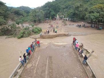 Die Bevölkerung in Honduras kämpft immer noch mit den Folgen der Tropenstürme Eta und Iota