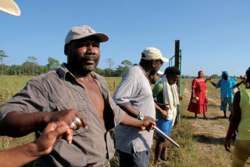 In Vallecito: Die Garifuna verteidigen ihr traditionelles Land