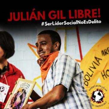 Julián Gil sitzt seit fast zwei jahren ohne Urteil im Gefängnis in Bogotá