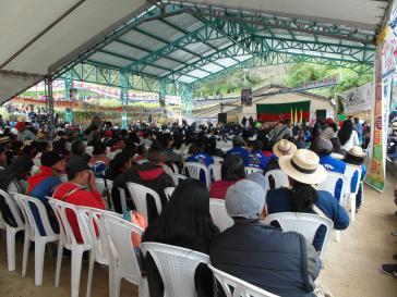 Rund 3.000 Bewohner und Amtsträger der indigenen Selbstverwaltungsgebiete im Cauca feierten den 49. Jahrestag der Gründung des Cric