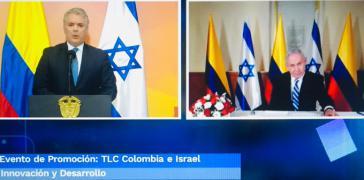 Duque und Netanyahu beglückwünschen sich zum Freihandelsabkommen
