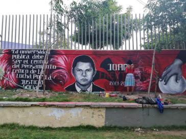 Wandbild von Studierenden der Universidad Atlántico für Freytter (2019)