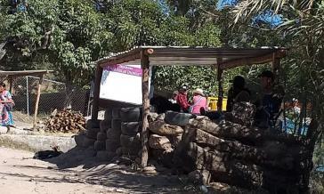 Kontrollposten der Nahua-Indigenen in Chilapa, Guerrero