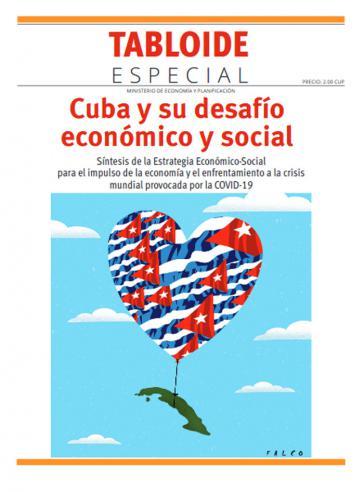 """Titelblatt der Broschüre """"Kuba und seine wirtschaftliche und soziale Herausforderung"""""""