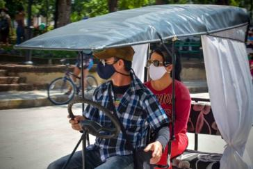 Seit dem 18. Juni sind Fahrradtaxis in Kuba weder erlaubt, hier in Holguin